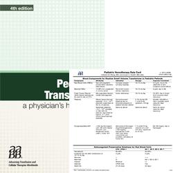 BUNDLE: Pediatric Transfusion: A Physician's Handbook, 4th edition, and Pediatric Hemotherapy Data Card