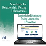 BUNDLE: Standards for Relationship Testing Laboratories, 12th edition – Print and Portal