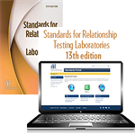 Standards for Relationship Testing Laboratories, 13th Edition – Print & Standards for Relationship Testing Laboratories, 13th Edition – Portal