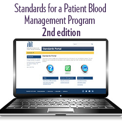 Standards for a Patient Blood Management Program, 2nd Edition – Portal
