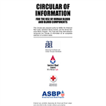 Circular of Information for the Use of Human Blood and Blood Components (Set of 50)