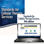 BUNDLE: Standards for Cellular Therapy Services, 9th edition – Print and Portal