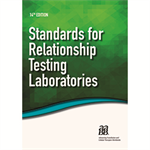 Standards for Relationship Testing Laboratories, 14th Edition – Print