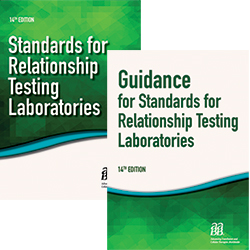 BUNDLE: Standards for Relationship Testing Laboratories, 14th ed – Print and Guidance for Standards for Relationship Testing Laboratories, 14th ed – Print