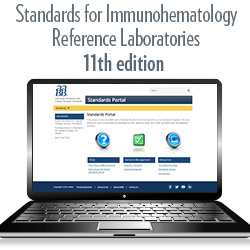 Standards for Immunohematology Reference Laboratories, 11th edition – Portal