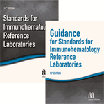 BUNDLE Standards for Immunohematology Reference Laboratories, 11th ed – Print and Guidance for Standards for Immunohematology Reference Laboratories, 11th ed – Print