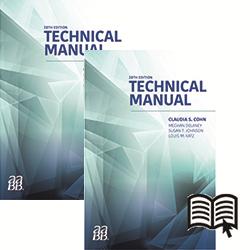 BUNDLE: Technical Manual, 20th Edition - Print and Digital