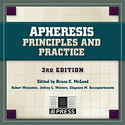 Apheresis: Principles and Practice, 3rd edition, CD ROM