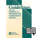 Guidelines for the Labeling of Specimens for Compatibility Testing