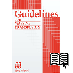 Guidelines for Massive Transfusion